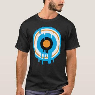 Dripping circle T-Shirt