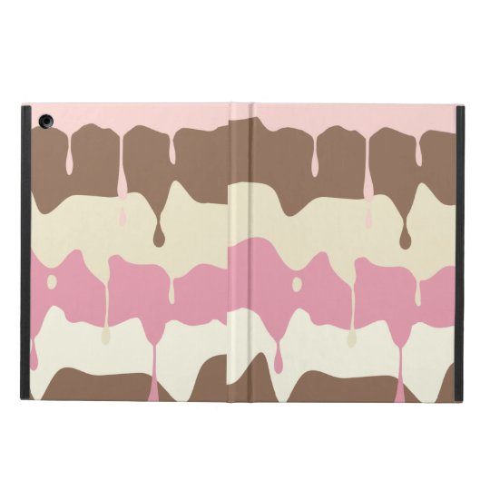 Dripping Neapolitan Ice Cream iPad Air Cover