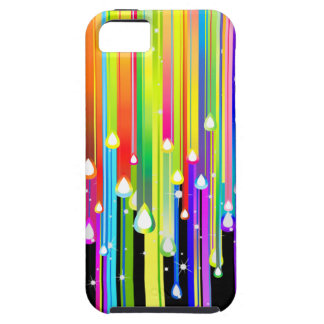 Dripping Paint and Sparkling Stars Case For The iPhone 5