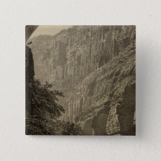 Dripping Pool, Kanab Canyon 2 Inch Square Button
