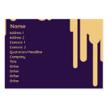 Drips - Chubby Business Card Template