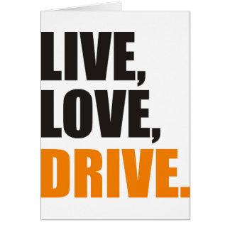 drive card