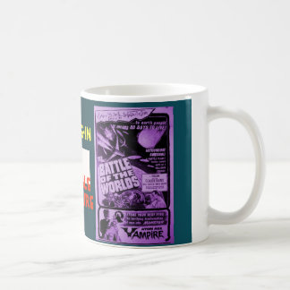 Drive-In Double Feature Classic White Coffee Mug