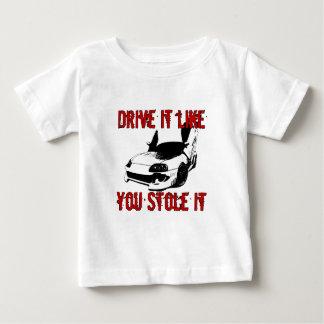 Drive it like you stole it - import race car tee shirt