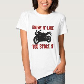 Drive it like you stole it - Japanese Bike Tees