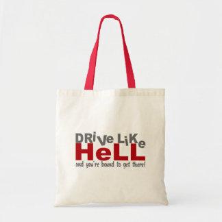 Drive Like Hell bag - choose style