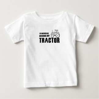Drive my Tractor Baby T-Shirt