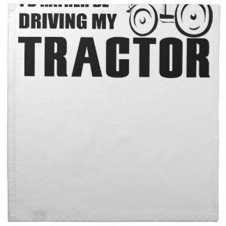 Drive my Tractor Napkin