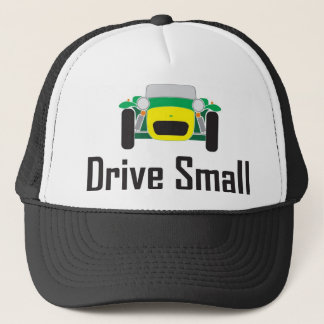 drive small super 7 trucker hat