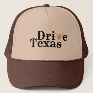 Drive Texas Brown Hat