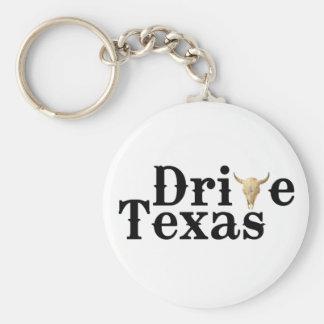 Drive Texas Keychain