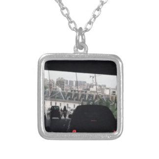 Drive under the bridge  Elegant BNW Gifts Square Pendant Necklace