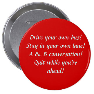 Drive your own bus button