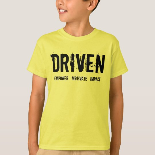 "DRIVEN KIDZ ""BRING IT COACH"" T-Shirt"