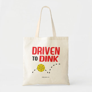 """Driven to Dink"" Pickleball Tote Bag"