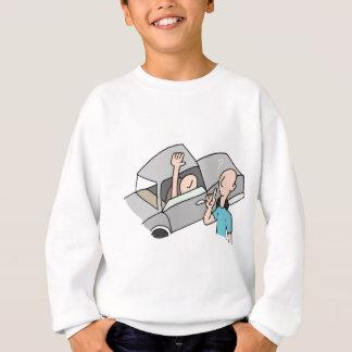 Driver asking directions sweatshirt