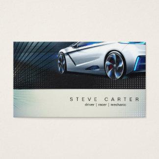 Driver Fast Car Mechanic Racer Business Card