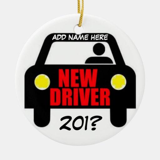 Drivers Training Keepsake Christmas Ornaments