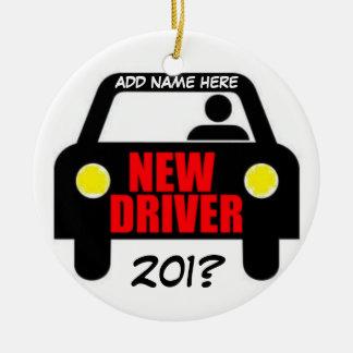 Drivers Training Keepsake Round Ceramic Ornament