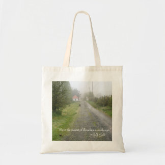 Driveway - Be In The Present Tote Bag