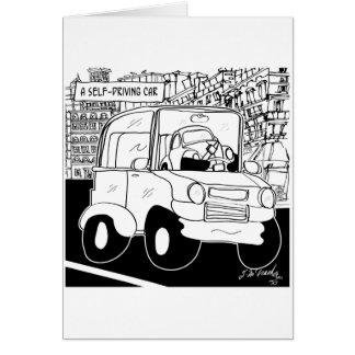 Driving Cartoon 9308 Card