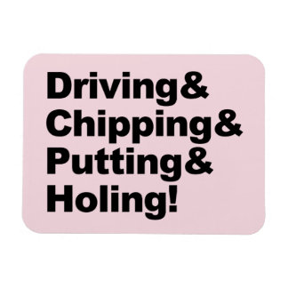 Driving&Chipping&Putting&Holing (blk) Magnet