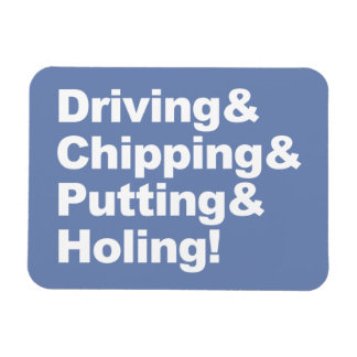 Driving&Chipping&Putting&Holing (wht) Magnet