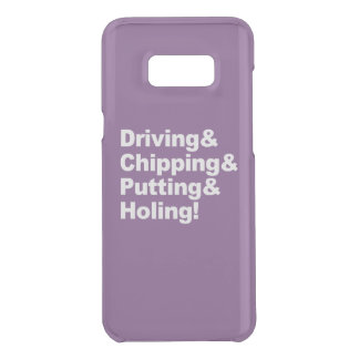Driving&Chipping&Putting&Holing (wht) Uncommon Samsung Galaxy S8 Plus Case