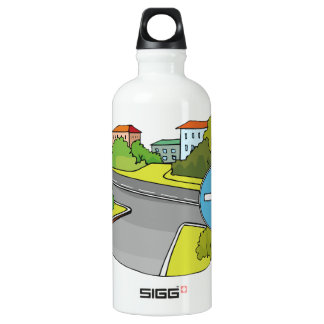 Driving Directions Water Bottle