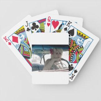 Driving Doris Bicycle Playing Cards