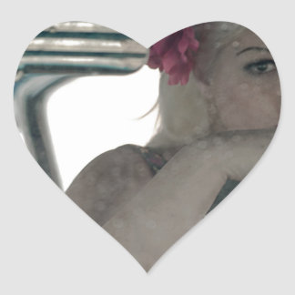 Driving Doris Heart Sticker