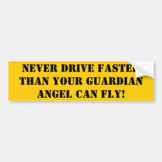 Driving Fast Bumper Sticker