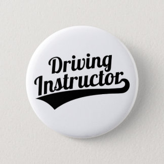 Driving instructor 2 inch round button
