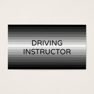 Driving Instructor Business Card