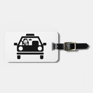 Driving instructor luggage tag