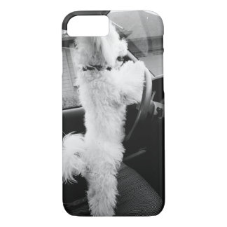 driving puppy iPhone 8/7 case