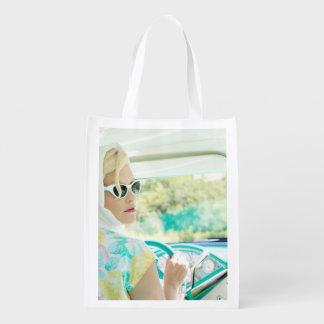 Driving - Reusable Grocery Bag