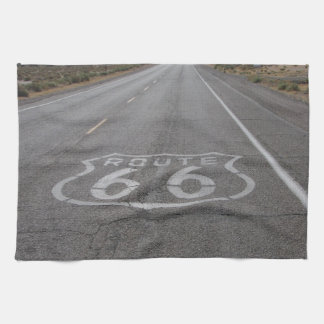Driving Route 66 Kitchen Towel