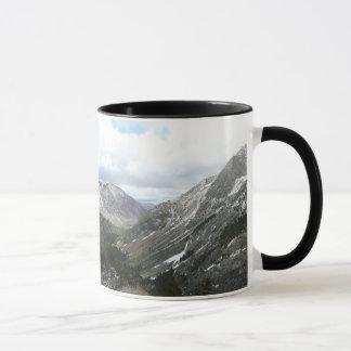 Driving Through the Snowy Sierra Nevada Mountains Mug