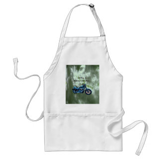 Driving to Heaven and Hell Adult Apron