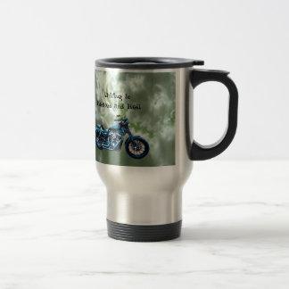 Driving to Heaven and Hell Coffee Mug