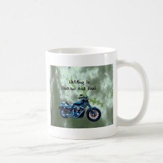 Driving to Heaven and Hell Coffee Mugs