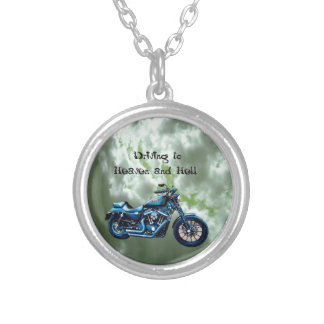 Driving to Heaven and Hell Pendant