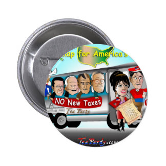 Driving USA 2 Inch Round Button