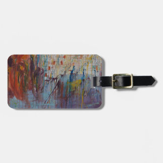 Drizzled Luggage Tag