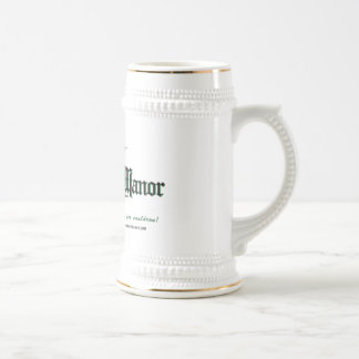 DRM Ankh Logo w/Text Beer Stein