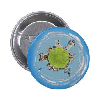drobeta turnu severin tiny planet romania architec 2 inch round button