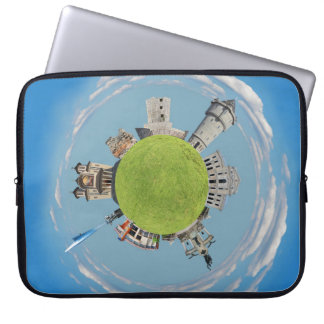 drobeta turnu severin tiny planet romania architec laptop computer sleeve