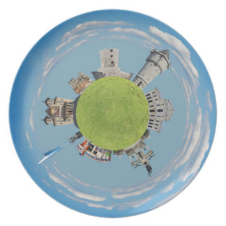 drobeta turnu severin tiny planet romania architec plate