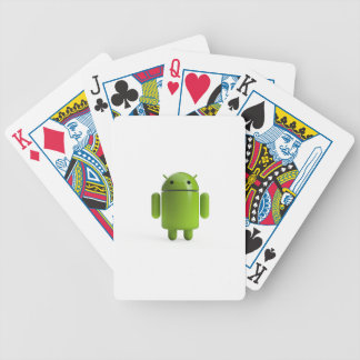 Droid Bicycle Playing Cards